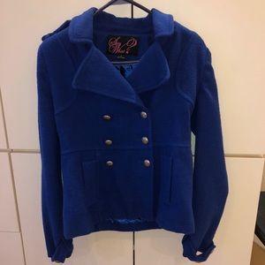 Jackets & Blazers - ❗️4 for $20❗️ Royal blue jacket